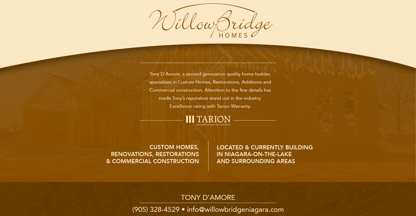 willow bridge main page